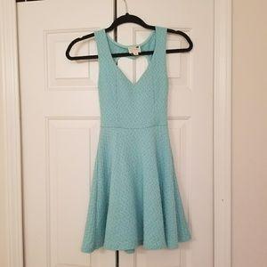 L.A. Hearts Baby Blue Dress
